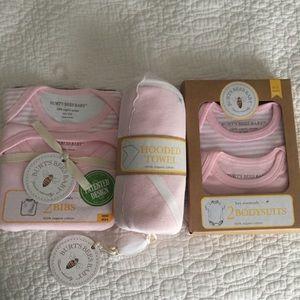 NWT burts bees baby gift sets